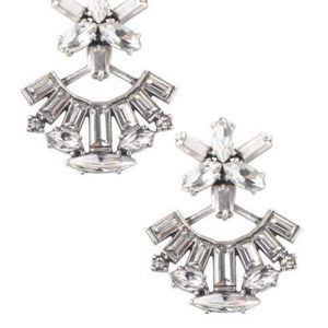 Stella and dot vintage silver earring jackets